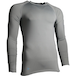 Precision Essential Base-Layer Long Sleeve Shirt Adult Grey - Large 42-44 Inch - Image 2