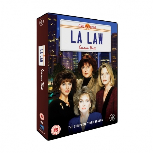 LA Law Season 3 DVD