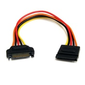 StarTech.com 8in 15 pin SATA Power Extension Cable