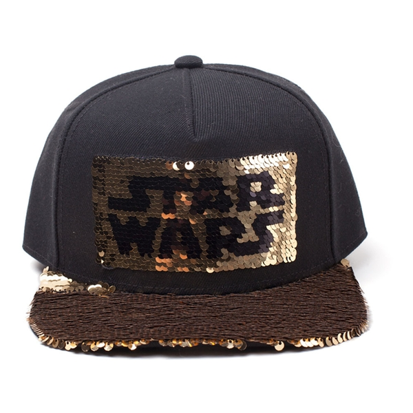 Star Wars - Logo Unisex Snapback Cap - Black/Gold