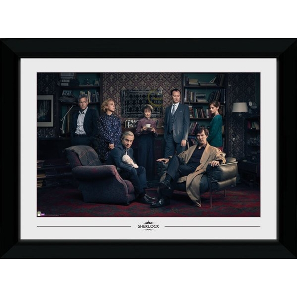 Sherlock Family Portrait Collector Print