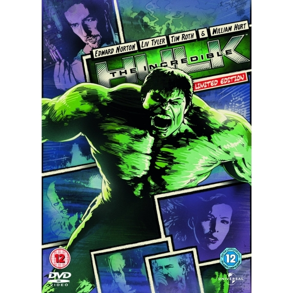 The Incredible Hulk Reel Heroes DVD