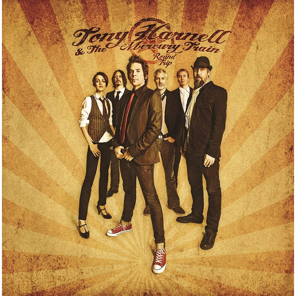 Tony Harnell & The Mercury Train ‎– Round Trip Limited Edition White Vinyl