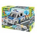 Police Van 1:20 Scale Level 1 Revell Junior Model Kit - Image 6