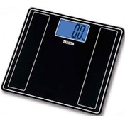 Tanita Glass Digital Bathroom Scale Black
