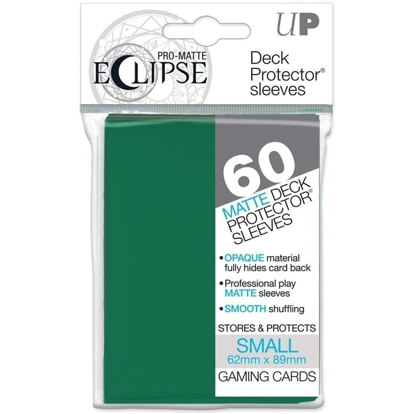 Ultra Pro Pro-Matte Forest Green Small Deck Protectors - 60 Sleeves