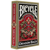 Bicycle Gold Dragon Deck Playing Cards
