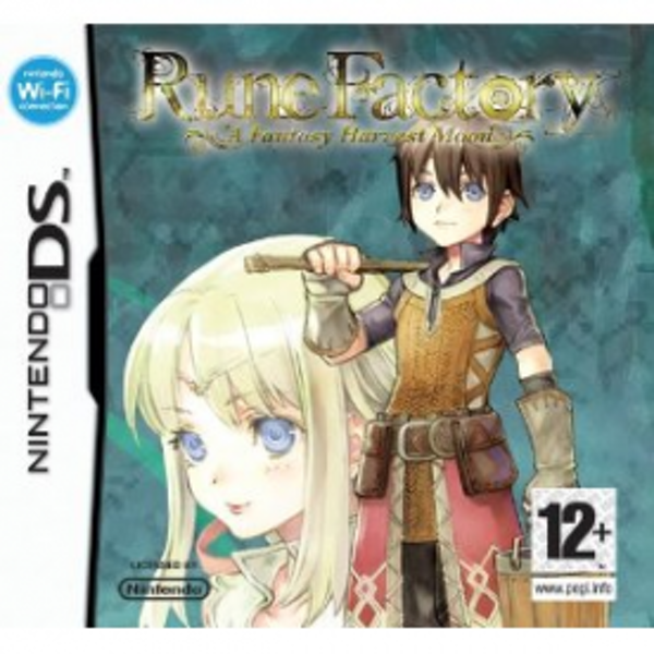 Rune Factory A Fantasy Harvest Moon Game DS