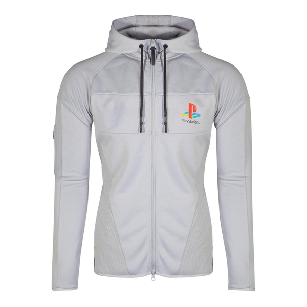 Sony - Ps One Logo Men's X-Large Hoodie - Grey