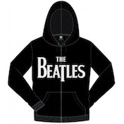 The Beatles Drop T Hooded Top_Black: Small
