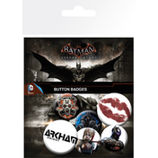 Batman Arkham Knight Mix 2 Badge Pack