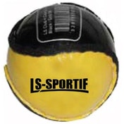 Hurling Club and County Sliotar Ball  Adult  Black/Gold
