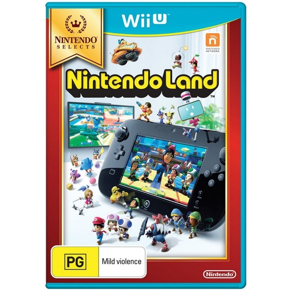 Nintendo Land Game Wii U (Selects)