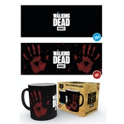 The Walking Dead Hand Print Heat Change Mug