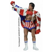 Neca Rocky 7 Inch Action Figure Classic Video Game Appearance