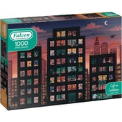 Falcon Contemporary Life in Lockdown Jigsaw Puzzle - 1000 Pieces