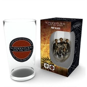 Supernatural Logo Glass