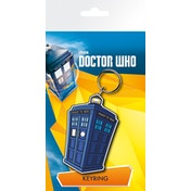 Doctor Who Tardis Illustration Key Ring
