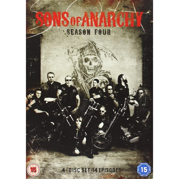 Sons Of Anarchy: Series 4 DVD