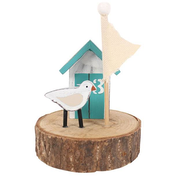 Beach Hut Wooden Decoration
