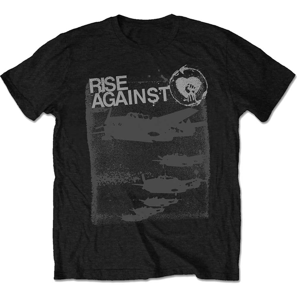 Rise Against - Formation Unisex Medium T-Shirt - Black