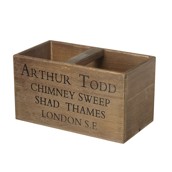 Arthur Todd Chimney Sweep Crate By Heaven Sends
