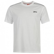 Slazenger Plain T-Shirt X-Large White