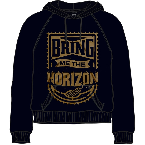 Bring Me The Horizon - Dynamite Unisex Small Pullover Hoodie - Black