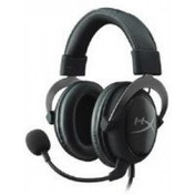HyperX Cloud II Headset with Single Mini Stereo Jack Plug Gun Metal PC Mac PS4 & Xbox One