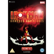 Iron Man - Armored Adventures Vol.1-2 - Complete DVD