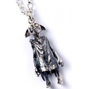 Sterling Silver Dobby the House Elf Charm Necklace