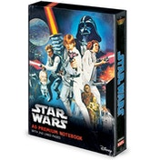 Star Wars - A New Hope VHS A5 Notebook
