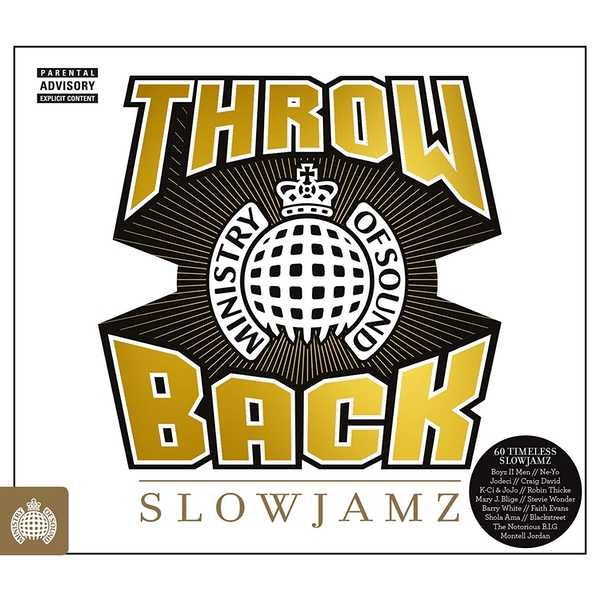 Ministry Of Sound - Slow Jamz CD