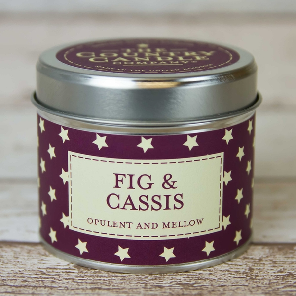 Fig & Cassis (Superstars Collection) Tin Candle