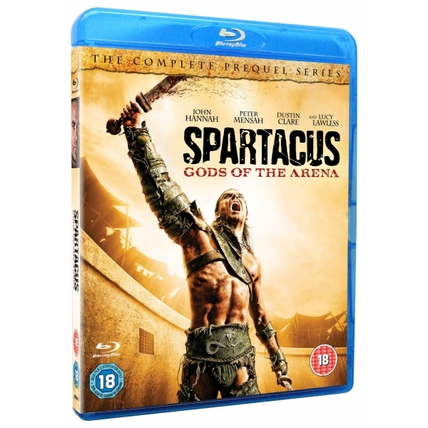 Spartacus Gods Of The Arena Blu-ray - Image 1