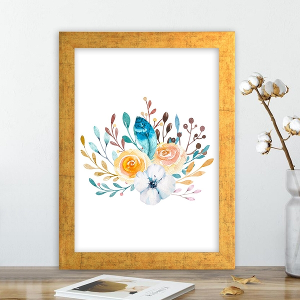 AC10355637852 Multicolor Decorative Framed MDF Painting