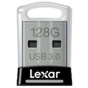 Lexar JumpDrive S45 128GB 128GB USB 3.0 (3.1 Gen 1) Type-A Black,Silver USB flash drive