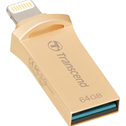 Transcend JetDrive Go 500 Gold 64GB USB 3.1 stick voor iPhone