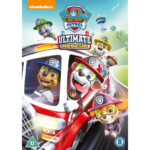 Paw Patrol: Ultimate Rescue DVD