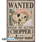 One Piece - Wanted Chopper New Small Poster