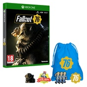 Fallout 76 Xbox One Game + Exclusive Pin Badge Set
