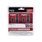 SPEEDLINK Stream Play and Charge Cable Set for PS3 SL-4408-SBK