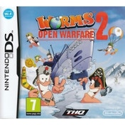Worms Open Warfare 2 Game DS