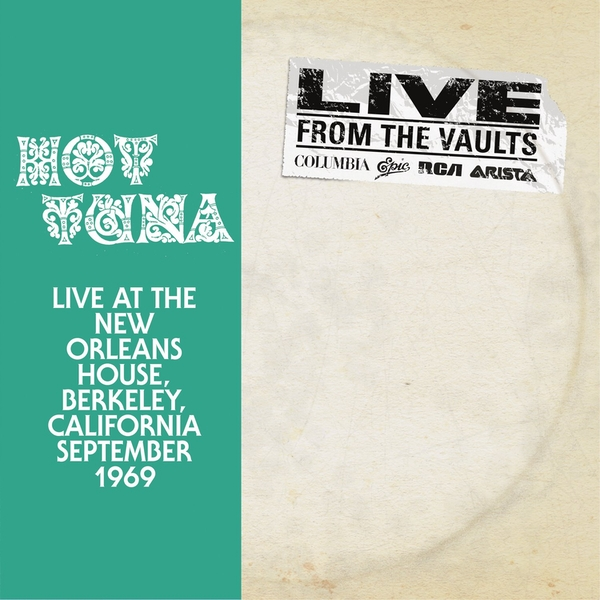 Hot Tuna - Live At The New Orleans House Vinyl