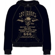 Avenged Sevenfold Seize the Day Men's X-Large Hooded Top - Black