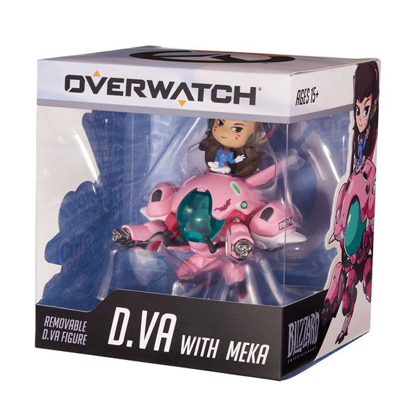 D.va With Meka Cute But Deadly (Overwatch) Figure ...