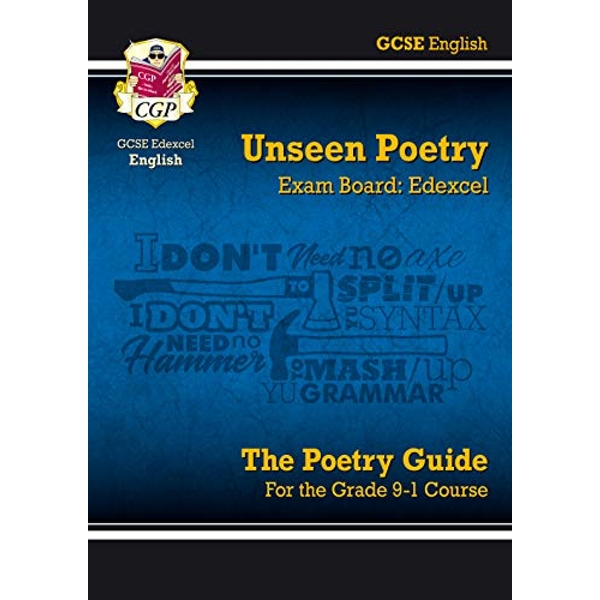 New Grade 9-1 GCSE English Literature Edexcel Unseen Poetry Guide  Paperback / softback 2018