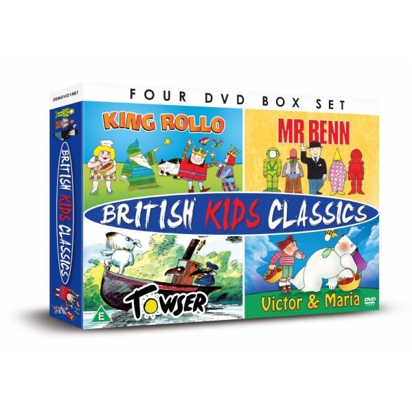 British Kids Classics: Mr Benn/King Rollo/Towser/Victor And Maria  DVD