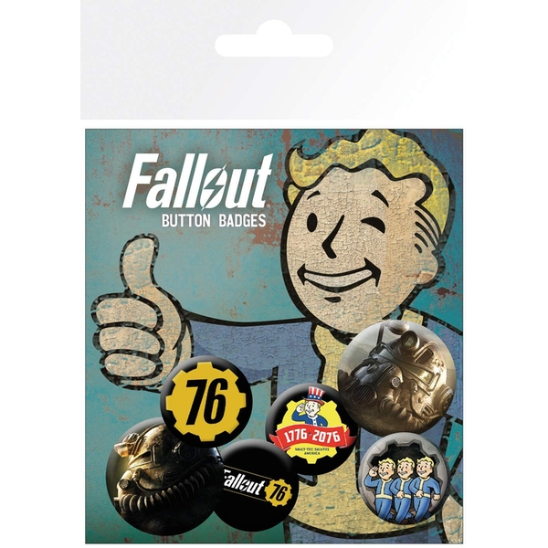 Fallout - 76 Mix Badge Pack