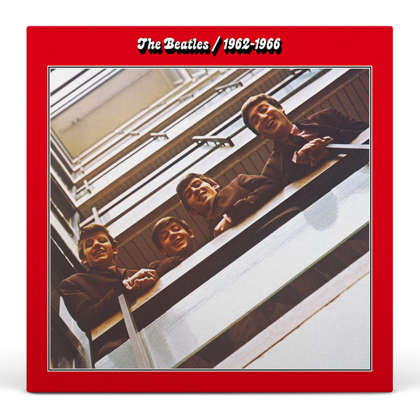 The Beatles ‎– 1962-1966 (The Red Album) Double LP Vinyl